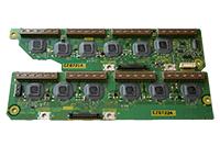 Scan board плазменной панели