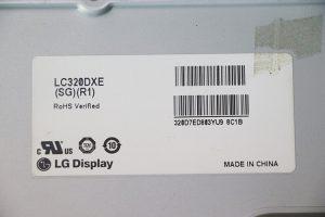 LC320DXE (SG)(R1) Матрица для LG 32LB530U в наличии купить