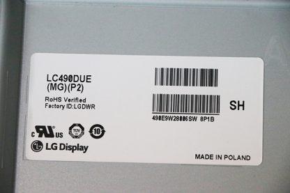 LC490DUE (MG)(P2) Матрица для LG 49LF620V в наличии купить